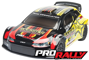 Team Associated ProRally 4WD Brushless Powered RTR Rally Car